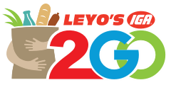 A theme logo of Leyo's Supermarket